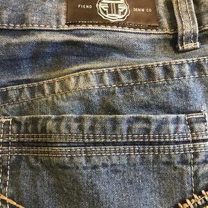 Fiend Denim Company distressed Jeans 38/32